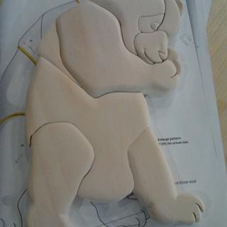 Panda Bear Intarsia - Woodworking Project by Debbie Tasa