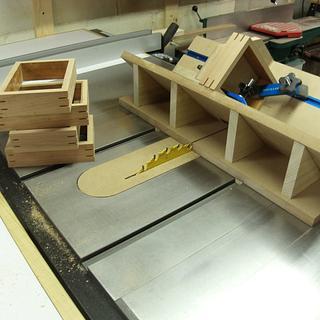 Spline Jig - Woodworking Project by kdc68