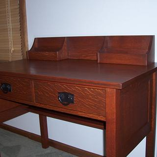 Stickley #708 Writing Desk - Woodworking Project by VincentN
