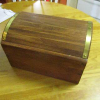 Grown ups Pirate Chest - Woodworking Project by Bill T