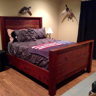 Ceadar Bed - Woodworking Project by Chris & Sandy Charpentier