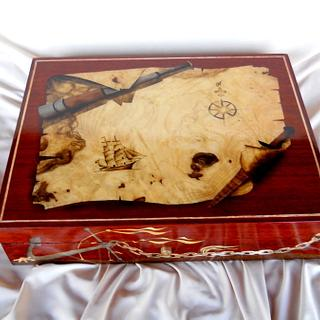Marquetry Chart Boxes - Project by shipwright