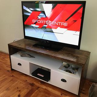 Rough-ish TV Stand