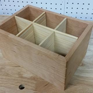 Open top box for organization
