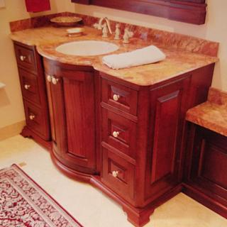 Mahogany Bathroom Cabinetry  - Project by Steve66