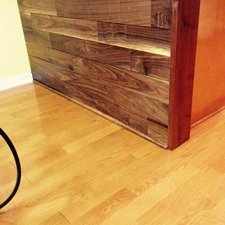 Wall planking - Woodworking Project by Bill Higgins