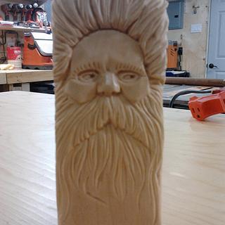 Wood Spirit - Woodworking Project by Debbie Tasa