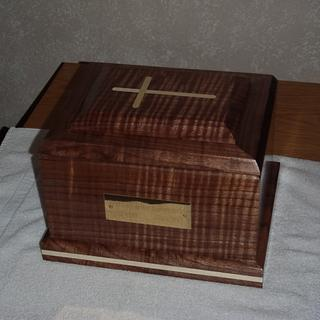 Urn for brother-in-law - Woodworking Project by stopherswoods