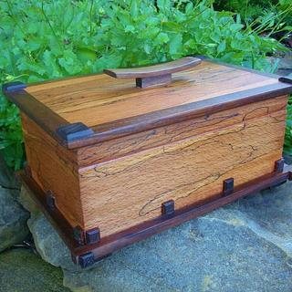 ALMOST FORGOT (SPALTED BEECH BOX ) - Cake by kiefer
