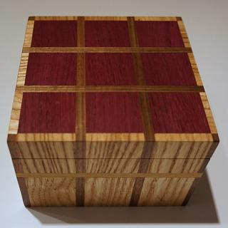 Easy Plaid Box - Project by lanwater