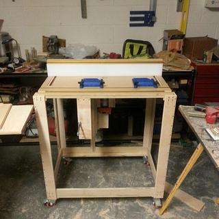 Router Table and Lift. - Woodworking Project by BentWoodStudios