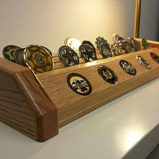 Challenge Coin Display - Cake by Tim