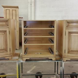 Double bow front vanity  - Woodworking Project by Les Hastings