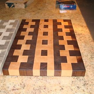 Cutting board for wedding gift. - Woodworking Project by Madts