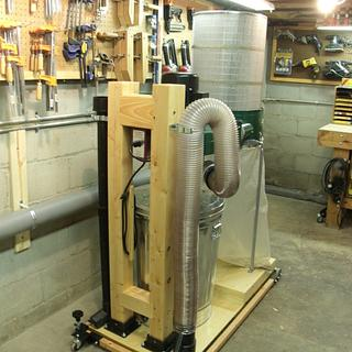 Harbor Freight Dust Collector Conversion - Project by kdc68