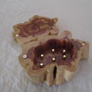 tree trunk jewlery box - Woodworking Project by Bill T