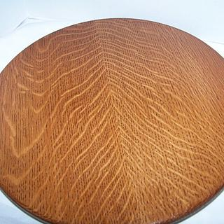 quarter sawn white oak lazy susans - Cake by walnut65