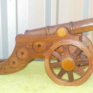 EXPLODED CANNON - Woodworking Project by Sam Shakouri