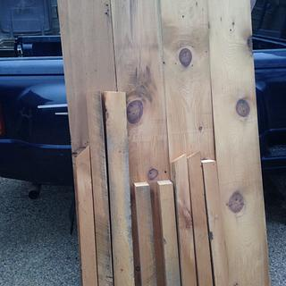 Barn Wood Table - Project by Boone's Woodshed