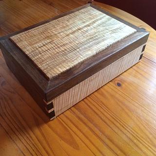 Custom Tea Box - Woodworking Project by Hopewellwoodwork