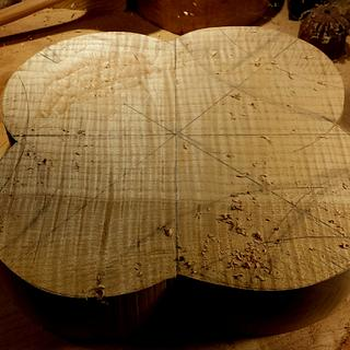 Quilted maple bowl 2017 - Cake by Mark Michaels
