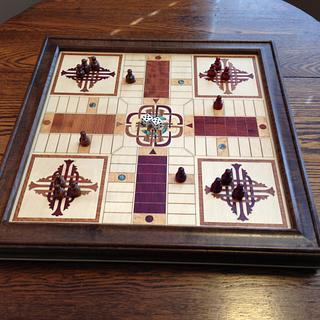 Parcheesi Game (and Wall Art) - Cake by Terry