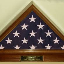 Flag Display Case - Woodworking Project by Lightweightladylefty
