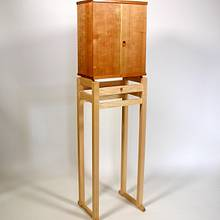 Standing Tall - Woodworking Project by Norman Pirollo