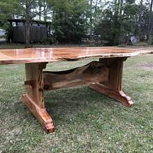 Live Edge Dining Table - Woodworking Project by Augie