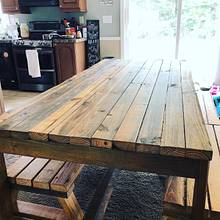 Reclaimed Farmhouse Dining Table  - Woodworking Project by Ian Richardson