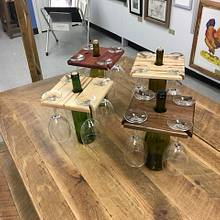 Wine Caddy - Woodworking Project by James Tillman
