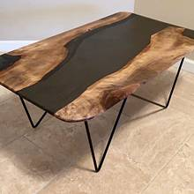 Black Sea Resin Table - Woodworking Project by Omid Nabavizadeh