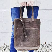 The Clara Bag - Leatherworking Project by Val Campbell