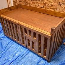 WoodenDoghouse - Woodworking Project by kobayahi66