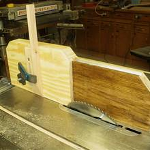 Tenoning Jig - Woodworking Project by Lightweightladylefty