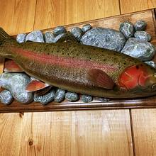Carved Rainbow Trout - Woodworking Project by Danny Cowan