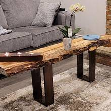 Live Edge Coffee Table - Woodworking Project by MayJay