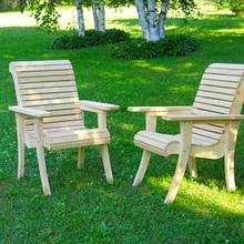 White Cedar Garden Chairs - Woodworking Project by Matteout