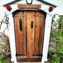 Restored Oak doors - Woodworking Project by BlackRoseWoodwork