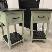 Matching bedside tables - Woodworking Project by StarsinicWoodworks