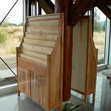 Brochure rack - Woodworking Project by WestCoast Arts