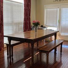 Dinning table - Woodworking Project by Tom