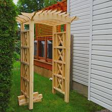 Cedar Arbour  - Woodworking Project by Matteout