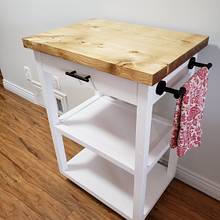 Kitchen cart  - Woodworking Project by Toast