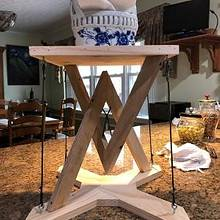 Anti-gravity table - Woodworking Project by Angelo