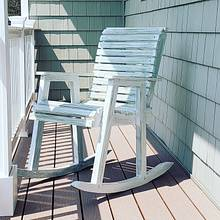 Beach Weathered Rocking Chair - Woodworking Project by omegawrx