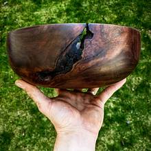 Walnut fruit bowl - Woodworking Project by WoodHaus
