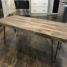 Rustic coffee table - Woodworking Project by GoodmanDesigns