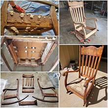 Antique rocking chair restoration  - Woodworking Project by Boards2benches