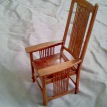 Gustav Stickley Tall Back Spindle Armchair - Woodworking Project by William Niver